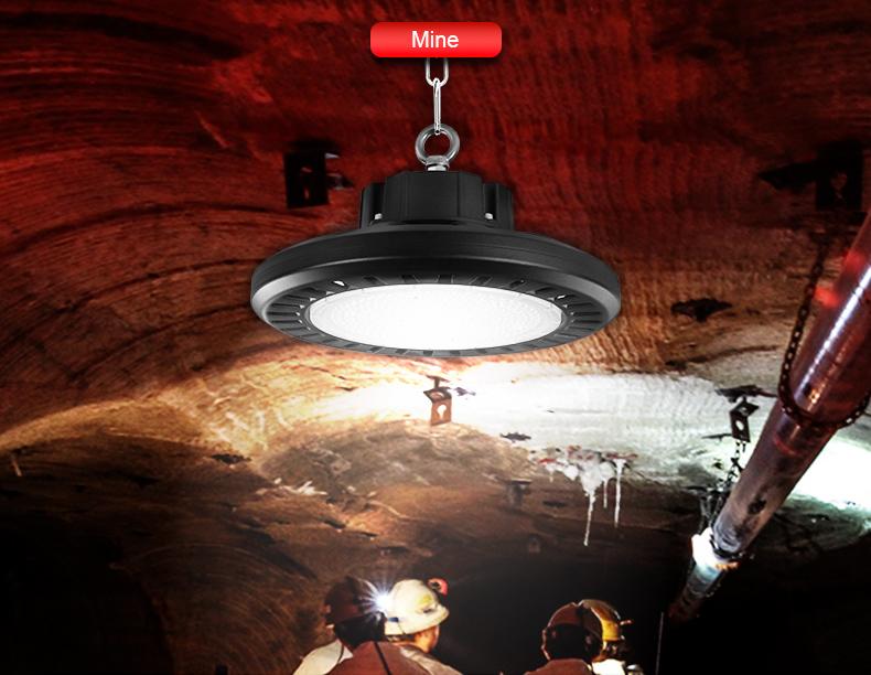 High-power LED high bay lights Factory workshop Warehouse logistics center Exhibition hall lighting FL-UFO-GF1