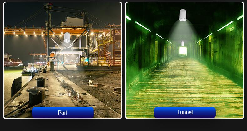 Surface-mounted anti-glare led downlight High-speed railway station Waiting hall LED project spotlight FL-TD-MZ1