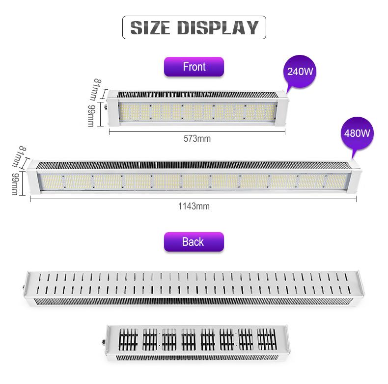 full spectrum led grow light For Green factory commerical FL-ZWD-LYH1