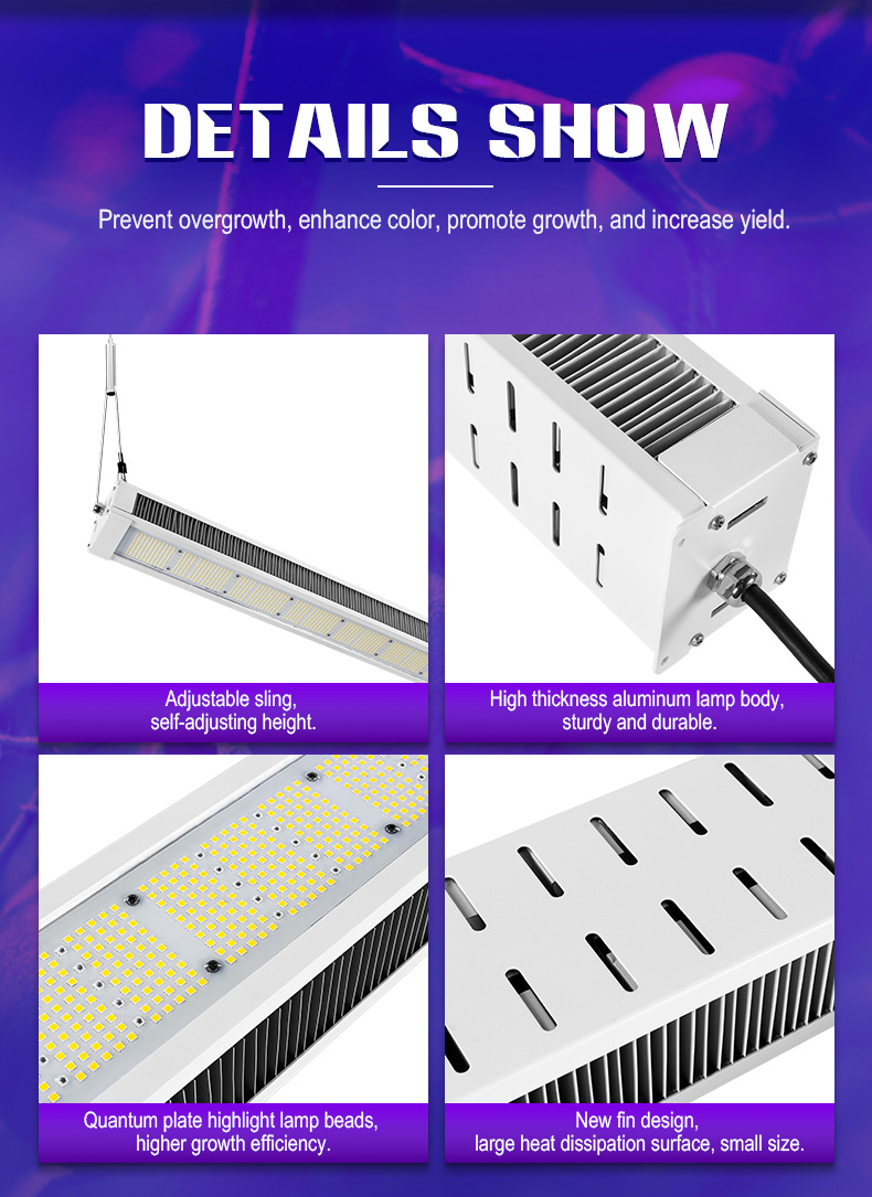 full spectrum 240W 480W led grow light For Green factory commerical FL-ZWD-LYH1
