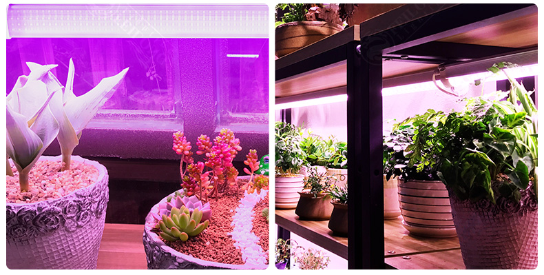 LED linear tube Connectable design IP65 waterproof high indoor plant LED grow light