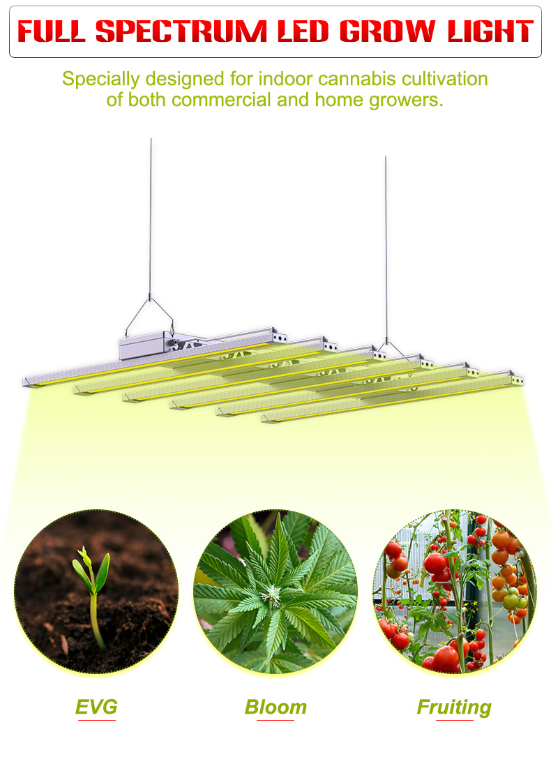 2021 best full spectrum led grow light 600w growlight for indoor growing COMMERCIAL