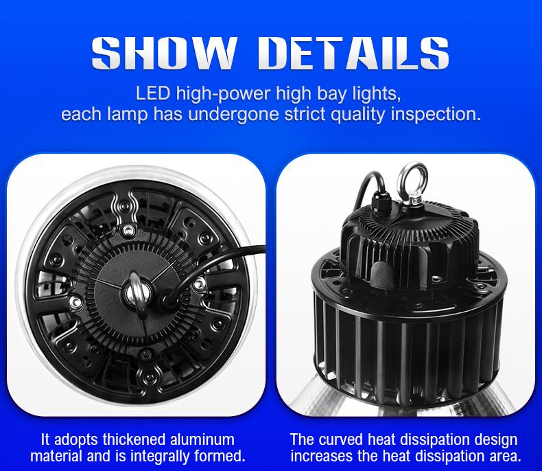 LED high-power high bay light factory workshop stadium lighting FL-GKD-B