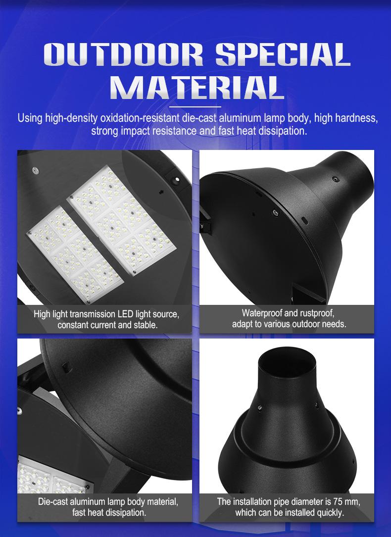 outdoor waterproof LED garden light 100W for community park villa lighting FL-TYD-AEH3