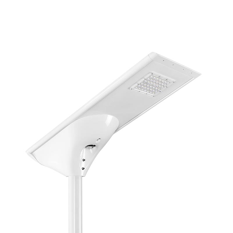 Intelligent integrated LED solar street light 10W courtyard light