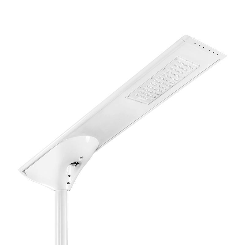 Intelligent solar street lamp 30-60w Outdoor IP65 waterproof solar light street for yard lights