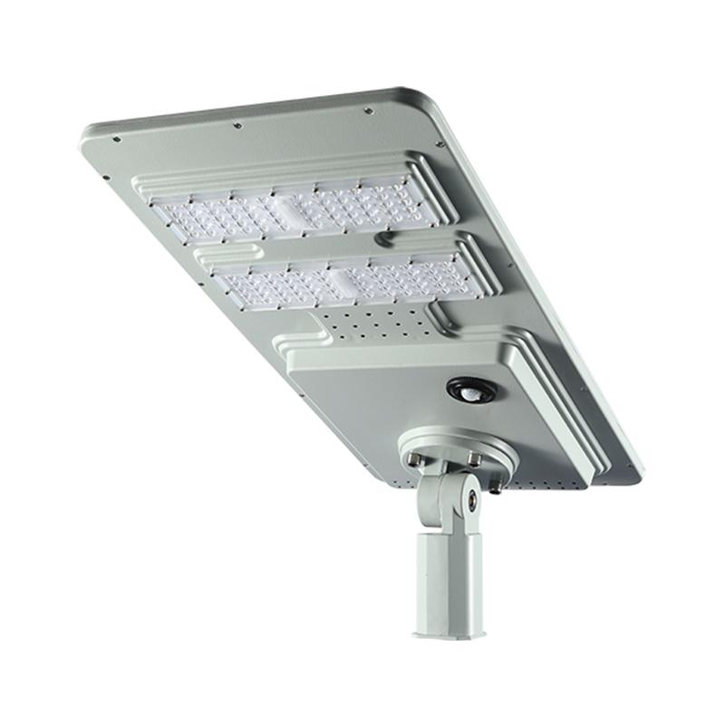 led solar street light solar panel all in one PIR motion sensor and photocell street light 120w 180w Philips