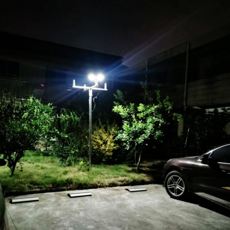 Philips 20W all in one solar ufo led post top lamp for outdoor garden lighting