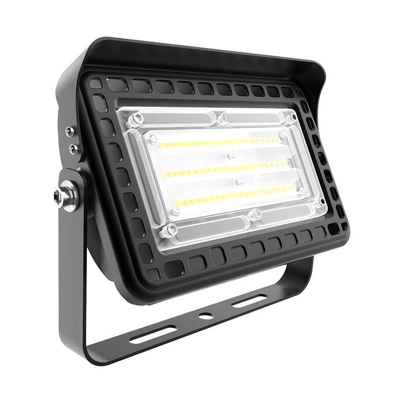 Outdoor Waterproof Die Cast Aluminum Security Floodlight 30w 50w 80w LED Flood Light
