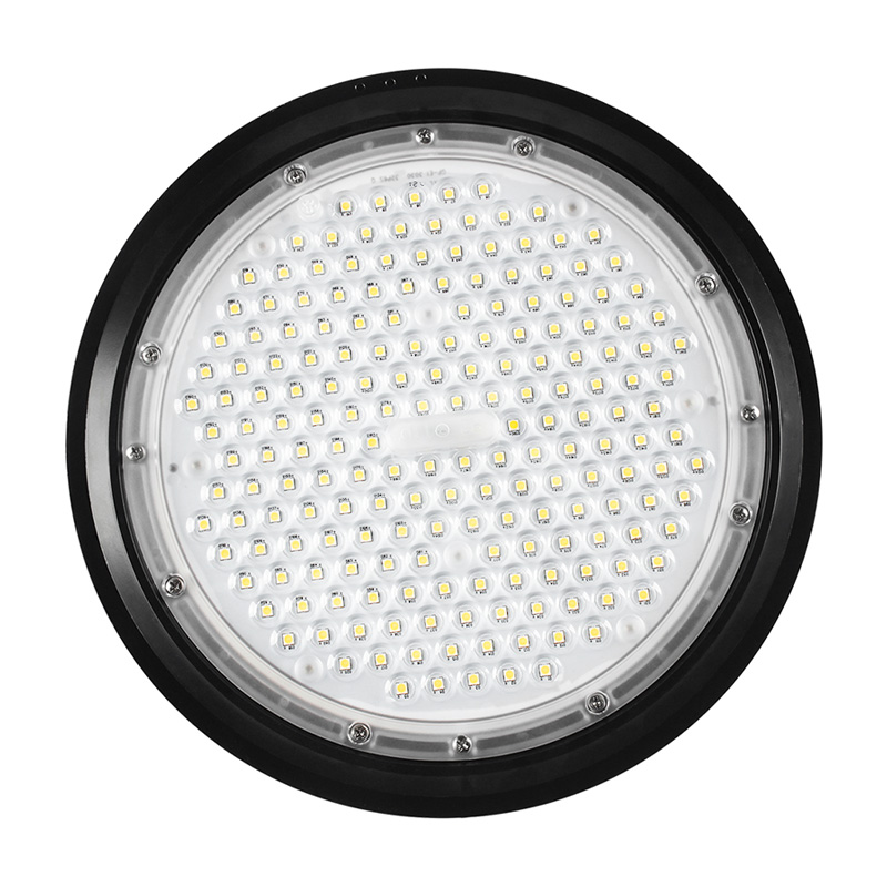 3-5 year warranty  ufo led high bay light industrial warehouse highbay dimmable 200W 150W luminaires