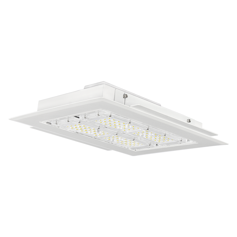 wholesale led gas station canopy lights 60W 80W 150W 160W 200W price for petrol station/garage/airport